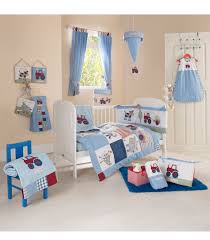 Nursery Bedding Sets Neutral by Buy Your Baby Weavers Busy Tractor 4 Piece Kids Pinterest