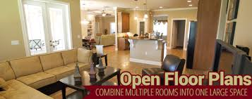 what is open floor plan choosing an open vs closed floor plan steve allen construction