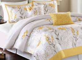 bedding set fearsome navy white and yellow bedding attractive