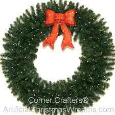 4 foot deluxe led prelit wreath