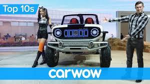 futuristic jeep all the craziest new cars from the futuristic 2017 tokyo motor