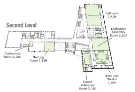 level floor student activity center sac floor level maps