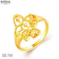 aliexpress buy new arrival fashion 24k gp gold 24k gp ring shop cheap 24k gp ring from china 24k gp ring
