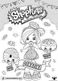coloring pages to print shopkins print shopkins season 6 doll chef club donatina coloring pages to