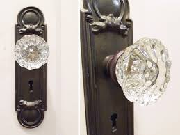 Old Knobs Antique Glass Door Knobs And Back Plates John Robinson House Decor