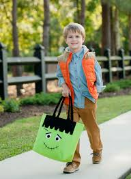 halloween totes personalized halloween trick or treat totes monogrammed halloween