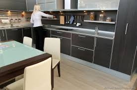Kitchen Design Gallery Photos Pictures Of Kitchens Modern Black Kitchen Cabinets