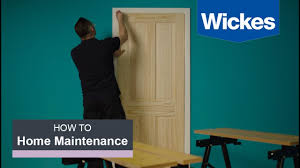 Wickes Fitted Bedroom Furniture How To Hang An Interior Door With Wickes Youtube