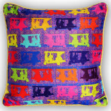 pop taxis poli dupion cushion cover from the exclusive home decor