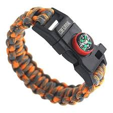 survival bracelet whistle images Core survival paracord survival bracelet hiking multi tool jpg