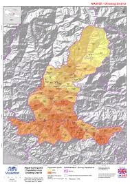 Nepal India Map by Datasets Mapaction