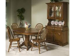 intercon classic oak solid oak table u0026 4 chairs old brick