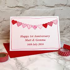 anniversary card by arnott cards gifts