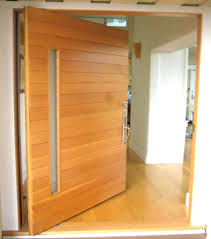 Solid Timber Front Door by Pivot Door Modern Doors For Sale
