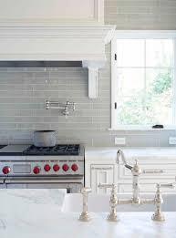 white kitchen backsplash tile ideas smoke glass subway tile grey backsplash marble countertops and