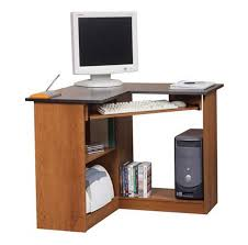 corner computer desk with keyboard tray space saving walmart corner desk with pullout keyboard tray home