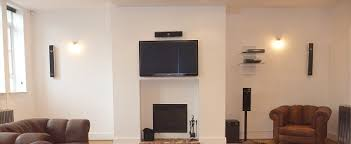 Where To Put Tv Tv Mounted Over Fireplace Where To Put Cable Box Awesome How To