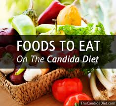 foods to eat on the candida diet