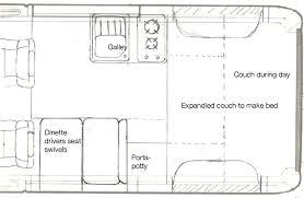 sprinter van conversion floor plans floorplans ram promaster forum