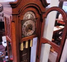 Howard Miller Clock Value Ridgeway Grandfather Clock Vintage 1976 Division Of Howard Miller
