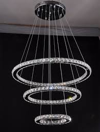 modern 2 ring pendant lights lustres led pendant ls 38w