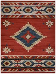 Southwestern Throw Rugs Nevita Collection Southwestern Native American Design Area Rug