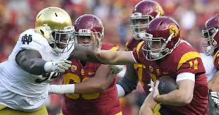 Michael Hutchings Usc Referee Ron Cherry Hurt During Notre Dame Usc Game The Seattle Times