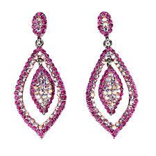 pink drop earrings swarovski black friday deal tear drop earrings