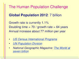 Challenge Rate The Human Population Challenge From Population Bomb To Demographi