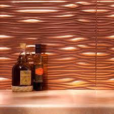 Copper Tile Backsplash For Kitchen 100 Wavy Backsplash Alamode I U0027m Talkin U0027 Tile