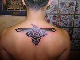 upper back tattoo tribal 2015