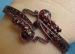 bangle bracelet ebay images 432 best antique bohemian garnets images garnet jpg