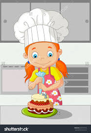 how to make a cake for a girl cake clipart prezup for
