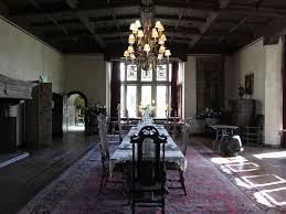 Interiors Dining Room Of Coe Hall Mansion Oyster Bay New York - Mansion dining room