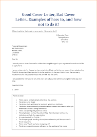 how to do a good cover letter cover letter resume example good