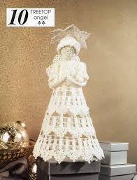 White Christmas Tree Decorations Ireland by Crochet Christmas Tree Top Angel Crochet Pattern Pdf Xmas Tree