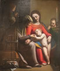 file the holy family with sts the baptist by
