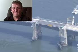 dad launches car with family inside over opening drawbridge new