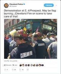 Flag Burning Legal Who Established American Law On Flag Burning Sues Cleveland