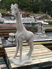 concrete zoo animals unique lawn garden statues