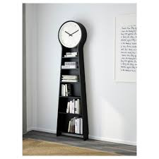 lovely ikea grandfather clock bookcase 48 in high gloss bookcase