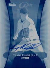 autograph plate craig kimbrel autograph ebay