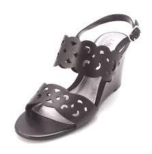 lauren by ralph lauren womens adlie leather open toe casual