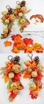 turning decorations to thanksgiving decorations i found