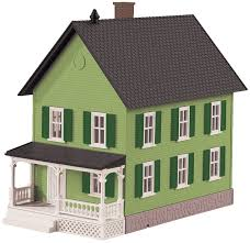 Row House Model - mth railking o 30 90551 row house 2 green modeltrainstuff com