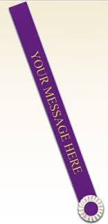 sash ribbon custom sashes personalize with up to 24 characters spaces