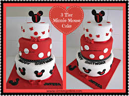 1st birthday cake minnie mouse