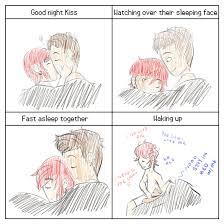 Couples Sleeping Meme - couples night meme by yokarichan on deviantart