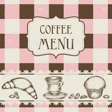 coffee and cakes menu royalty free cliparts vectors and stock