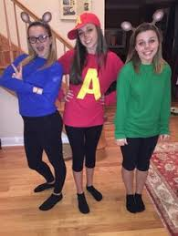44 Homemade Halloween Costumes Adults Homemade Halloween Diy Alvin Chipmunks Halloween Costume Halloween Costumes